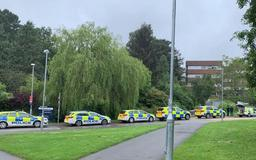 Exeter University on lockdown after 'student with handgun makes threats'