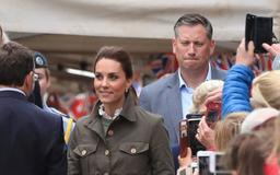Kate Middleton Keeps It Casual in Skinny Jeans and Chunky Boots