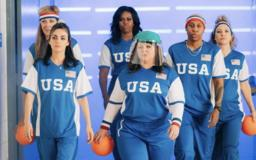 Mila Kunis Plays Dodgeball with Michelle Obama, James Corden During UK Trip