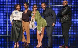 Chrissy Teigen Gets Out of Hand on Celeb Family Feud