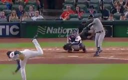 VIDEO: Ryan Braun Swung at the Worst Pitch of All Time in 11th Inning vs Astros' Josh James