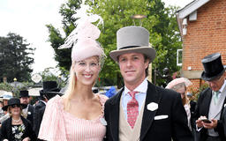 Lady Gabriella Shows Off Newlywed Glow at Royal Ascot with Husband — One Month After Wedding!
