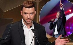 Justin Timberlake raves about wife Jessica Biel while accepting honors at Songwriters Hall of Fame Awards Gala