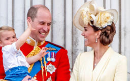 Prince William and Kate Middleton's romantic looks of love at Trooping the Colour