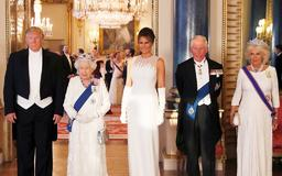 Prince William, Kate Middleton and Royals Dine With President Donald Trump at State Banquet in London