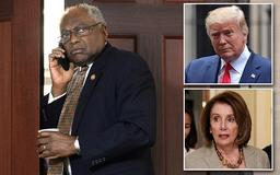 Third-in-command Democrat now says he's NOT pushing for a Trump impeachment after insisting it will happen 'at some point'