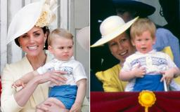 Prince Louis Wore Prince Harry's Royal Hand-Me-Downs at Trooping the Colour