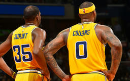 NBA Finals 2019: Warriors announce that Kevin Durant and DeMarcus Cousins are 'unlikely' to play at the beginning of series