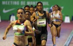 Semenya wins in Montreuil, intends to defend world title