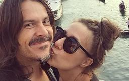 Baby on the way? Jackie Gillies, 38, reveals she and rocker husband Ben are actively 'trying' for a child so she doesn't miss out on motherhood