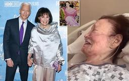 Anderson Cooper announces that his mother Gloria Vanderbilt - scion of the 'gilded age' family - has died at the age of 95 from stomach cancer, as he shares touching video of her laughing in her hospital bed