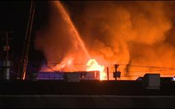 Body found in burned SE Portland warehouse after massive fire