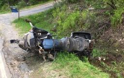 Man buys motorcycle, dies in crash on ride home, officials say