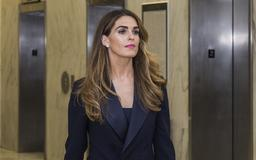 Democrats Say Former Trump Aide Hope Hicks Refuses Questions During Closed-Door 'Farce'