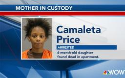 Mom arrested after 6-month-old found dead in apartment