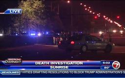 Police investigate after man killed by hit-and-run driver in Sunrise