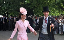 Kate Middleton and Prince William Look Straight Out of a Musical in Rare Candid Garden Party Photo