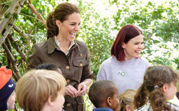 The Duchess is launching a gardening competition!