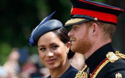 Meghan Markle Joins Prince Harry For First Royal Event Since Archie's Birth