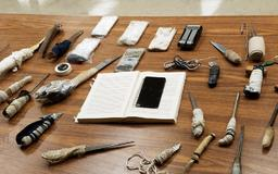 Alabama prison sweep turns up makeshift weapons, drugs, contraband cell phones