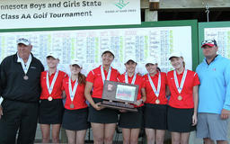 DL girls continue state podium streak with third place finish