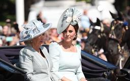 Why Kate Middleton Always Sits With Camilla, Not Prince William At This Event