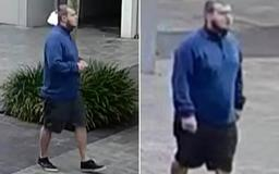 Hunt for 'predator who lifted a 19-year-old woman's skirt while filming her on his mobile phone in the middle of a busy street'