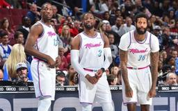James Johnson Shouts Out Dwyane Wade for Making Him a Better Father