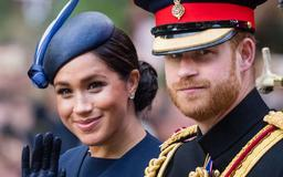 Were Meghan Markle and Prince Harry Snubbed by the Royal Fam at Trooping the Colour Today?