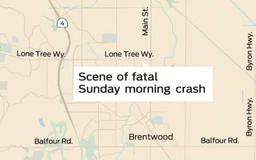 Woman killed in Brentwood crash; driver suspected of felony DUI