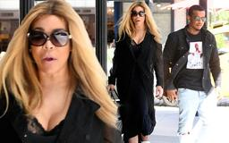 Wendy Williams, 54, takes new beau Marc Tomblin, 27 out for a day of shopping as insiders claim her estranged ex Kevin Hunter isn't jealous of new romance