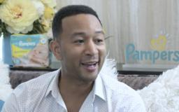 John Legend thinks dads should step up at home and 'be changing diapers, too'