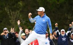 Gary Woodland holds onto lead as Justin Rose edges closer at US Open
