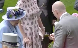 Watch Mike Tindall Make Queen Elizabeth Laugh at Royal Ascot with What's Hiding Under His Top Hat!