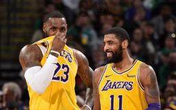 Kyrie Irving reportedly wants to play with Anthony Davis, and someone close to LeBron James thinks Irving is 'still in play' for Lakers