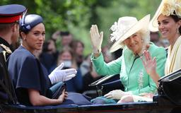 Why Prince William Didn't Ride With Meghan, Harry, and Kate at Trooping the Colour