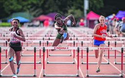 Sakeuh earns fourth-place finish at state track meet