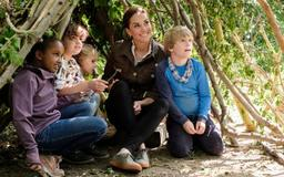 Watch as Kate Middleton Helps Catch a Newt on the BBC Children's Program 'Blue Peter'