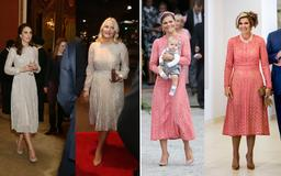 When royals twin in the EXACT same outfits! Duchesses Kate, Meghan, Princess Beatrice and more