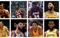 Where do LeBron James and Anthony Davis rank among the all-time duos for the Los Angeles Lakers