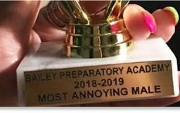 Teacher mocks autistic student with 'most annoying' award