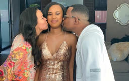 MARTIN LAWRENCE'S DAUGHTER HEADS OFF TO THE PROM