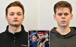 'Abhorrent' far-Right propaganda posted by two teenage neo-Nazis is revealed as pair are jailed for a total of five years after branding Prince Harry a 'race traitor' for marrying Meghan