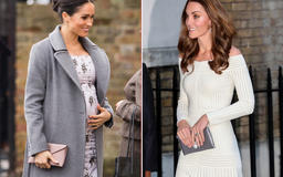 Meghan Markle and Kate Middleton can't get enough of this clutch