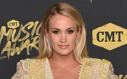 Carrie Underwood Stuns In Short Spandex, Skintight Tank & Instagram Can't Believe She Gave Birth 4 Months Ago