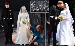 Meghan and Harry's wedding outfits head north of the border: Duchess of Sussex's Givenchy gown takes centre stage at royal exhibition in Edinburgh