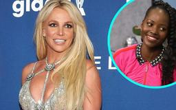Britney Spears Shares Lupita Nyong'o Quote on Public and Private Life