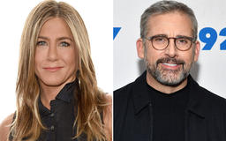 Jennifer Aniston Dishes on Her 'Silver Fox' Costar Steve Carell: 'He Gets Better with Age'