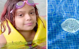 Girl Whose Insides Were Sucked From Her Body In The Pool Defies Medical Odds