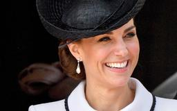 Kate Middleton looks flawless in white at traditional royal event